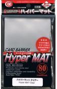 KMC Hyper Mat Clear Sleeves (80)