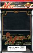 KMC Mat Black Sleeves (80)