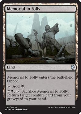 Memorial to Folly