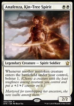 Anafenza, Kin-Tree Spirit