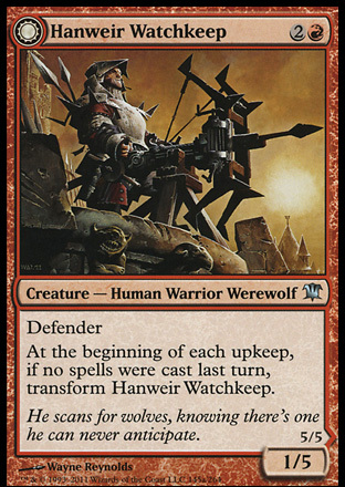 Hanweir Watchkeep // Bane of Hanweir