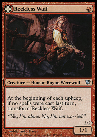 Reckless Waif // Merciless Predator