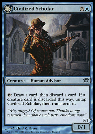 Civilized Scholar // Homicidal Brute