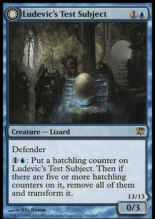 Ludevic's Test Subject // Ludevic's Abomination