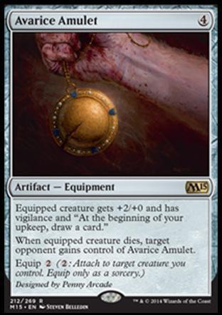 Avarice Amulet
