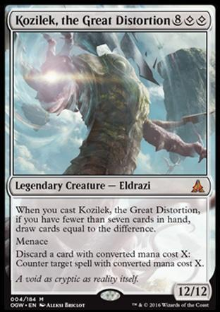 Kozilek, the Great Distortion