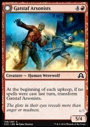 Gatstaf Arsonists \\ Gatstaf Ravagers