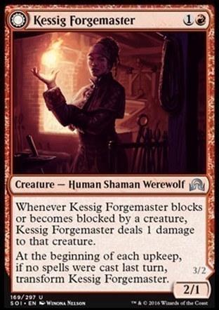 Kessig Forgemaster \\  Flameheart Werewolf