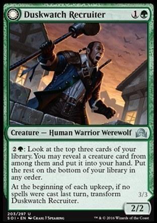 Duskwatch Recruiter \\ Krallenhorde Howler