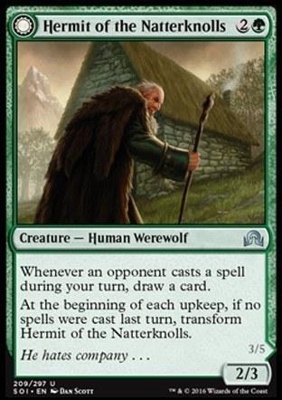 Hermit of the Natterknolls \\ Lone Wolf of the Natterknolls