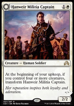 Hanweir Militia Captain \\ Westvale Cult Leader