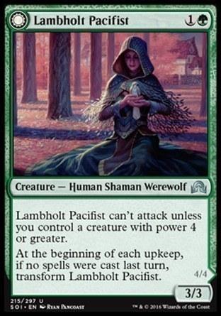 Lambholt Pacifist \\ Lambholt Butcher
