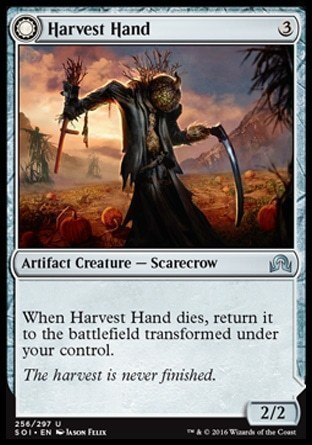 Harvest Hand \\ Scrounged Scythe