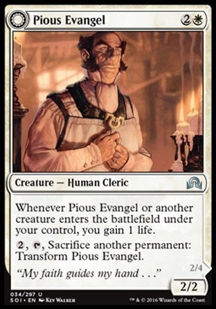 Pious Evangel \\ Wayward Disciple
