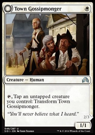 Town Gossipmonger \\ Incited Rabble