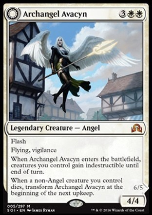 Archangel Avacyn \\ Avacyn, the Purifier