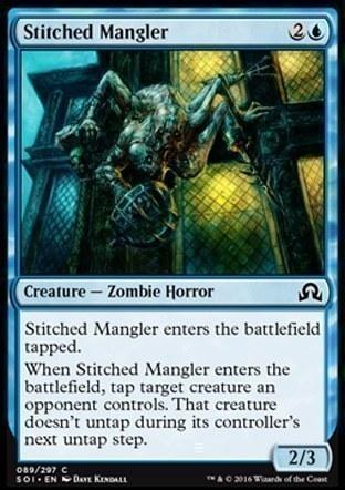 Stitched Mangler