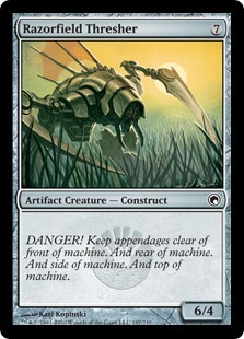 Razorfield Thresher