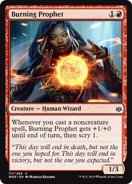 Burning Prophet