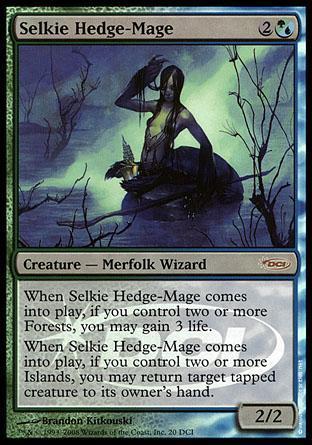Selkie Hedge-Mage