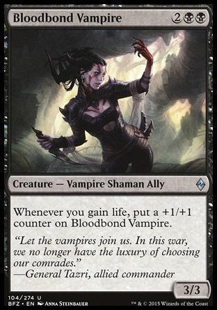 Вампир Кровавой Связи (Bloodbond Vampire)