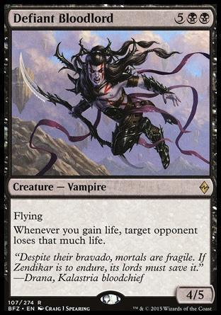 Дерзкий Кровавый Лорд (Defiant Bloodlord)