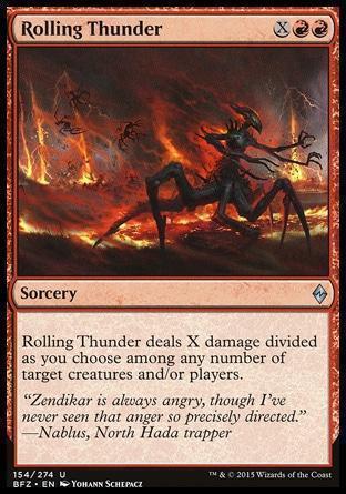 Наступление Бури (Rolling Thunder)