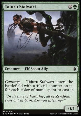 Таджурская Героиня (Tajuru Stalwart)