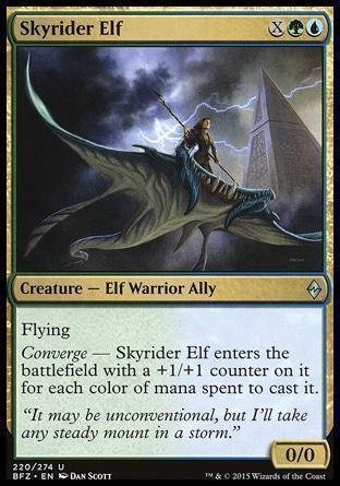 Эльфийский Небесный Всадник (Skyrider Elf)
