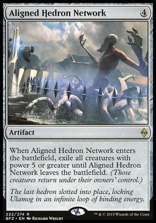Упорядоченная Сеть Эдров (Aligned Hedron Network)