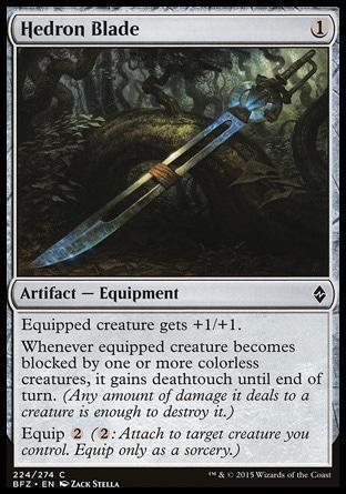 Клинок с Эдром (Hedron Blade)