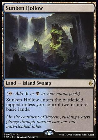 Затопленная Лощина (Sunken Hollow)