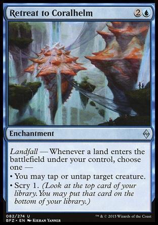 Retreat to Coralhelm