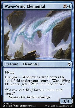 Волнокрылый Элементаль (Wave-Wing Elemental)