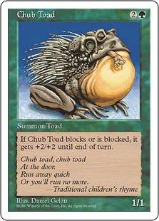 Chub Toad