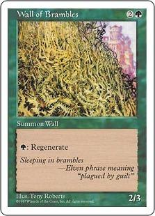 Wall of Brambles