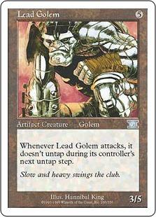 Lead Golem