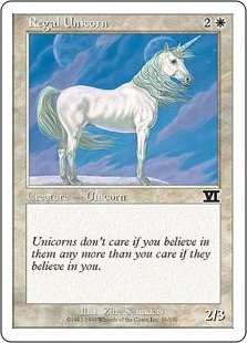 Regal Unicorn