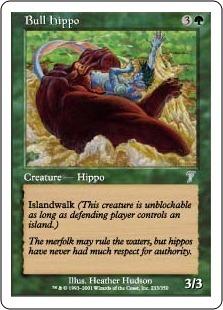 Bull Hippo
