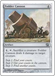 Fodder Cannon