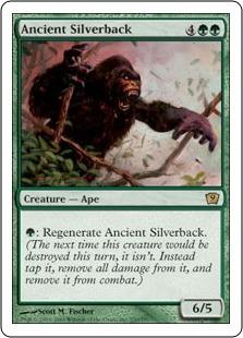 Старый вожак горилл (Ancient Silverback)