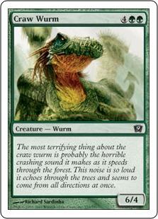 Зобатый вурм (Craw Wurm)