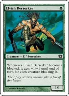 Эльфийский берсерк (Elvish Berserker)