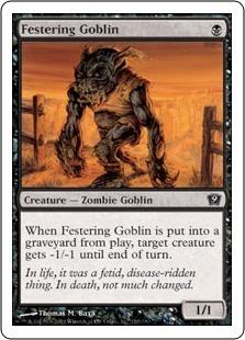 Разлагающийся гоблин (Festering Goblin)