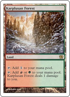 Карплюсанский лес (Karplusan Forest)