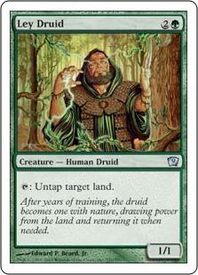 Друид с пастбищ (Ley Druid)