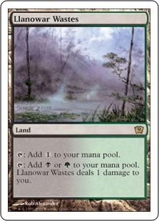 Лановарские пустоши (Llanowar Wastes)