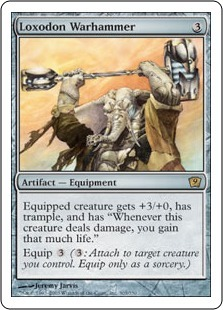 Локсодонский боевой молот (Loxodon Warhammer)