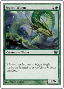 Чешуйчатый вурм (Scaled Wurm)