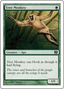 Древесная обезьяна (Tree Monkey)